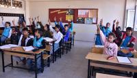 Şanlıurfa'nın sınır ilçelerindeki okullarda telafi eğitimi başladı