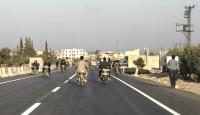 Zeytin Dalı Sınır Kapısı-Cinderes yolu ulaşıma açıldı