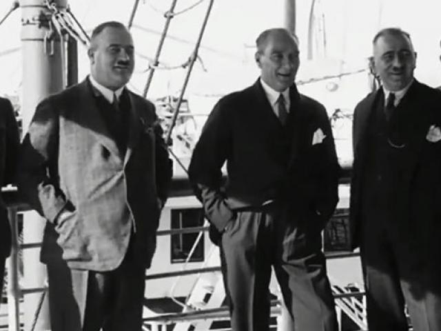 Atatürkün daha önce yayınlanmamış görüntüleri