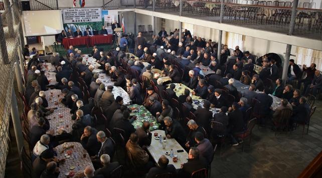 Azerbaycanda yaşayan Ahıskalılar vatan hasretiyle bir araya geldi