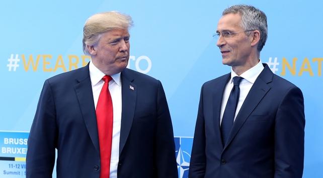 Trump, 14 Kasımda NATO Genel Sekreteri Stoltenberg ile görüşecek