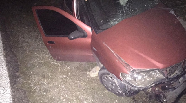 Manisada otomobil kamyonetle çarpıştı: 7 yaralı