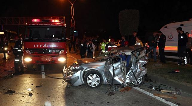 Sakaryada zincirleme trafik kazası: 3 ölü, 7 yaralı