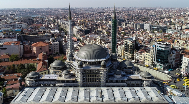 Taksim Camii 2020de ibadete açılacak