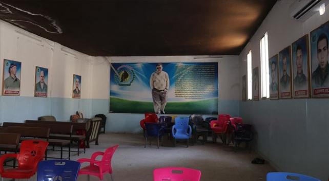 PKK/YPG Rasulaynda okulu karargah olarak kullandı