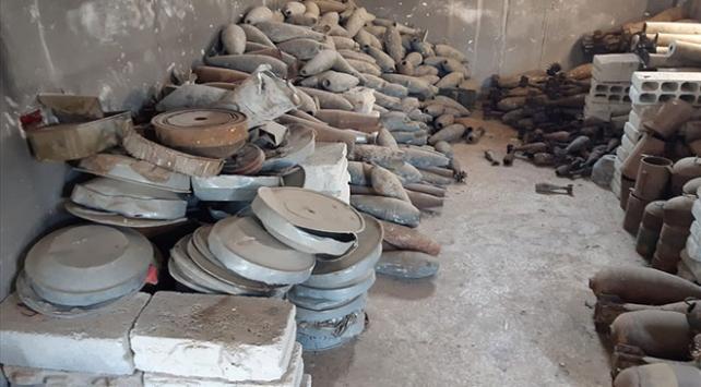 Tel Abyadda PKK/YPGye ait mayın eğitim ve depolama tesisi bulundu