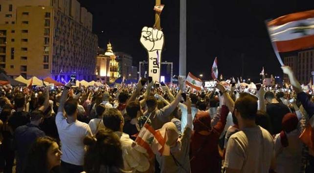 Lübnanda gösteriler 25inci gününde devam ediyor