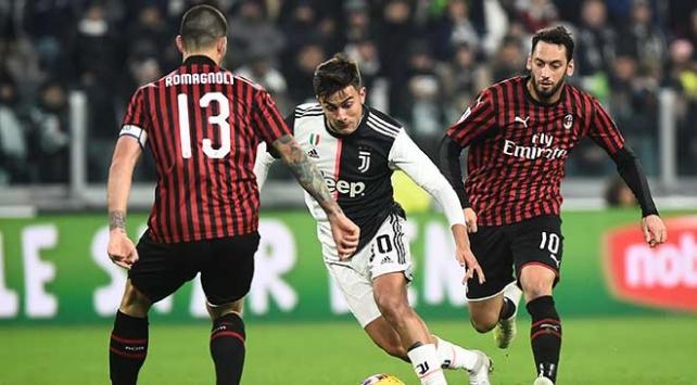 Juventus Milanı tek golle geçti