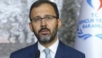Bakan Kasapoğlu'ndan başarılı sporculara burs müjdesi