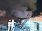 İstanbul'da gecekondu yangını