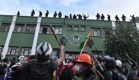 Bolivya'da ordu polise destek için sokağa indi