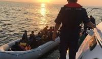 İzmir'de 126 düzensiz göçmen yakalandı