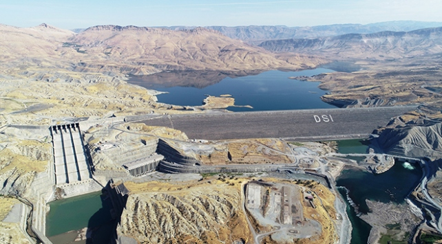 Ilısu Barajı enerji üretimine hazırlanıyor