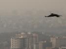 Tahran'da hava kirliliği sebebiyle okullar yarın tatil edildi