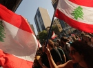 Fransız yetkilinin Lübnan ziyareti protesto edildi