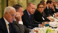 Cumhurbaşkanı Erdoğan ABD'li iş insanları ile bir araya geldi