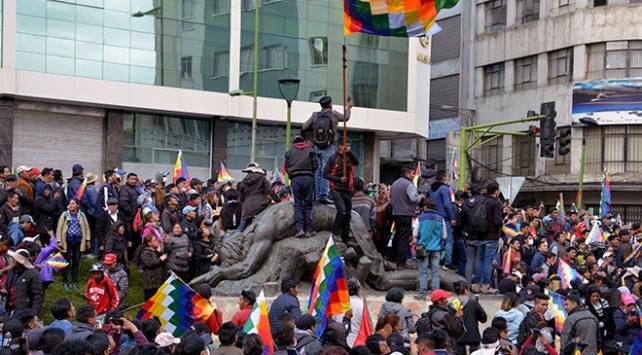 Bolivyada şiddet olayları sürüyor: 39 yaralı