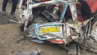 Cammu Keşmir'de minibüs uçuruma yuvarlandı: 16 ölü