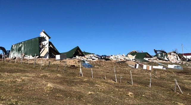 Trabzonda yayla ve meralardaki kaçak yapılar yıkılıyor