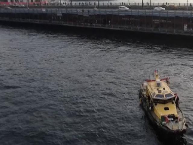 TÜBİTAK ekipleri Haliç'te suyun kalitesini ölçüyor