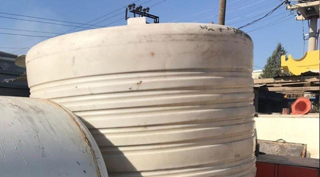 Gaziantepte 3 bin 500 litre kaçak akaryakıt ele geçirildi