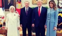 Trump, Erdoğan ile çekilmiş aile fotoğrafını paylaştı