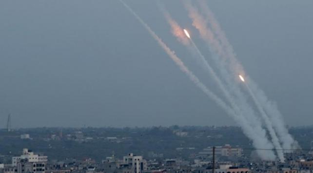 İsrail ordusu: Ateşkesin ardından Gazzeden 5 roket atıldı