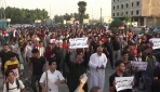 Irakta hükümet karşıtı gösterilerde tansiyon her geçen gün artıyor