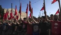 Yunanistan'da öğrenciler, polis şiddetini protesto etti