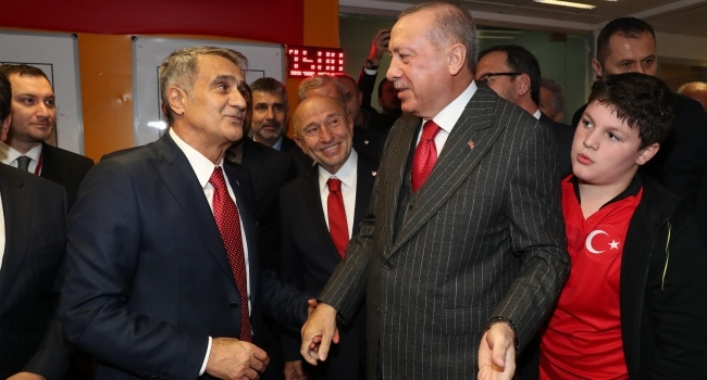 Cumhurbaşkanı Erdoğan, milli maçı TRT SPORa yorumladı