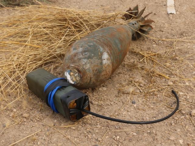 Rasulayn'da tuzaklanmış patlayıcılar imha ediliyor