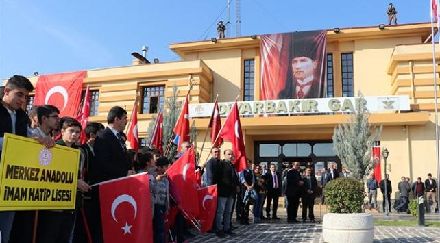 Atatürkün Diyarbakıra gelişinin 82. yıl dönümü törenle kutlandı