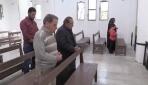 Tel Abyadda Mehmetçiğin onardığı kilise ibadete açıldı