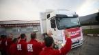 Türk Kızılay Bosna Hersekteki göçmenlere yardım gönderdi