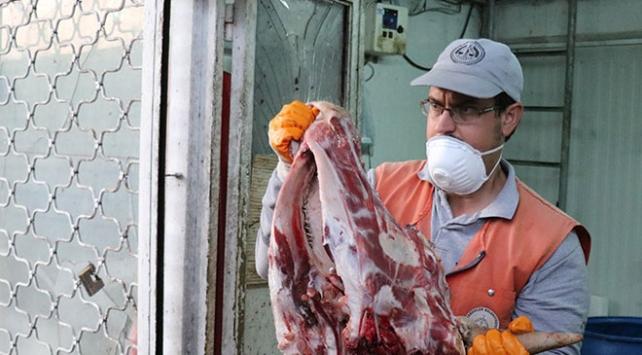 Sakaryada 20 ton kaçak et ve sakatat ele geçirildi