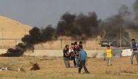 Büyük Dönüş Yürüyüşü İsrail'in saldırıları nedeniyle yapılamadı