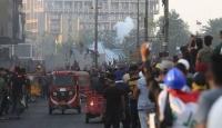 Irak'ta güvenlik güçleri göstericilere müdahale etti