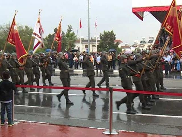 KKTC'nin 36. kuruluş yıl dönümü törenlerle kutlandı