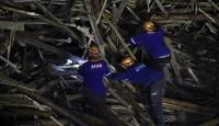 Gaziantep'te inşaat iskelesi altında kalan mühendise ulaşıldı