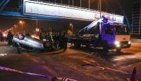 Başkentte trafik kazası: 1 ölü