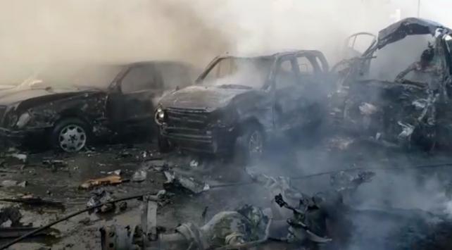 El Babda bombalı araçla saldırı: 18 ölü