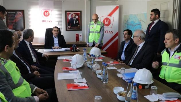 Enerji ve Tabii Kaynaklar Bakanı Dönmez: TürkAkım Projesini yıl sonuna kadar bitireceğiz