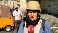 TRT Haber ekibi Irak'taki gösterilerin merkezinde