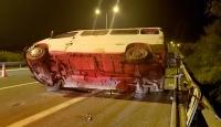 İzmir'de 2 ayrı trafik kazası: 1 ölü, 5 yaralı