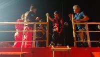 Kalp krizi tehlikesi geçiren kişiyi Sahil Güvenlik kurtardı