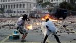 Hong Kongda barışçıl protestoların şiddete dönüşmesi endişe yaratıyor