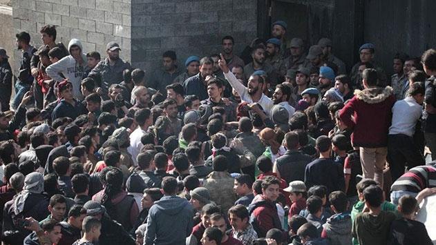 Babdaki terör saldırısı protesto edildi