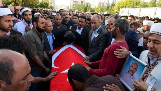 PKK/YPGnin Akçakale saldırısında yaralanan Halil Yoğurt şehit oldu