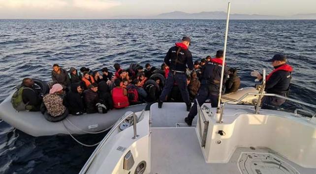 İzmir ve Muğlada 87 düzensiz göçmen yakalandı