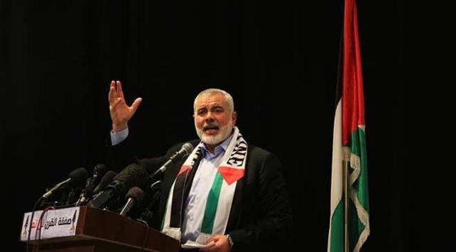 İsmail Heniyye: İsrail Filistinden çıkarılıncaya kadar savaş sürecek